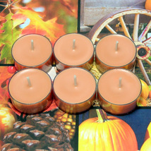 Autumn Spice PURE SOY Tea Lights - $5.00