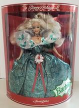 "Barbie: 1995 Happy Holidays Barbie 14"" Doll (14123) Open Box - $24.75"