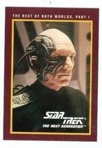 Star Trek The Next Generation card #226 Best of Both Worlds Part I Patrick Stewa - $4.00