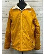 The North Face Men's Full Zip Windbreaker Jacket Coat Yellow Size L Zip ... - $55.55