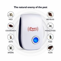 Ultrasonic Electronic Pest Repeller Mosquito Mouse Rat Multi-function Ro... - $8.99