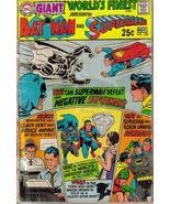 DC Giant World's Finest #188 Bruce Wayne Robin D Grayson Superman Clark ... - $2.95