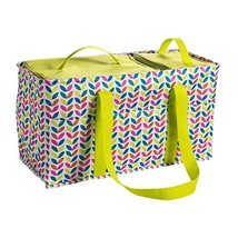 Large Utility Tote Bag With Handles 2 Zippered Coolers, Heavy Duty Fabri... - $1.390,01 MXN