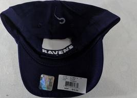 LZ NFL Team Apparel Toddler 18m+ OSFA Baltimore Ravens Baseball Hat Cap NEW i38 image 3