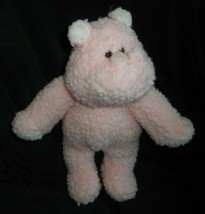 """13"""" VINTAGE 1992 COMMONWEALTH PINK BABY HIPPO STUFFED ANIMAL PLUSH TOY L... - $55.17"""