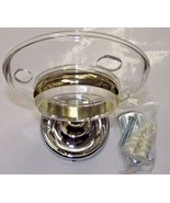 Taymor 04-CB7905 Maxwell Toothbrush & Tumbler Holder Chrome & Brass - $3.96