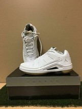 NEW IN BOX NIKE JORDAN ESTERNO LOW 9.5 WHITE/METALLIC SILVER BASKETBALL ... - $142.49