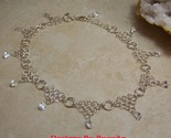 1m clear cz teardrop chain necklace beige thumb155 crop