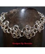 Rosette Chain Maille Bracelet - $150.00