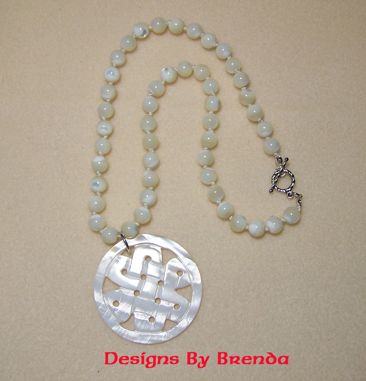 Dbb mop   ck necklace