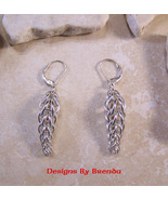 Inversian Chain Maille Earrings - $88.00