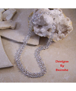 Red Carpet Chain Maille with Clear Crystals Nec... - $171.00