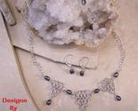 Dbb tri point   black pearl chain maille set thumb155 crop