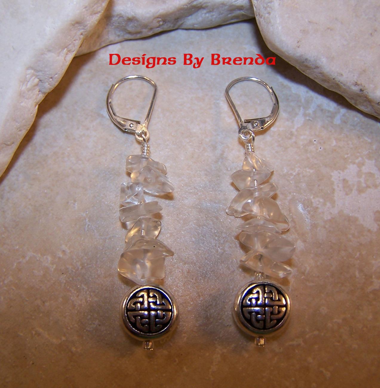 Dbb round celtic bead   quartz chips er