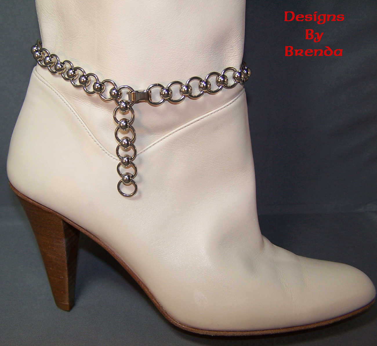 Stainless steel boot chain