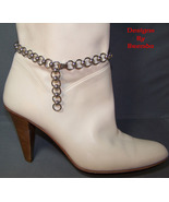 Boot Chain Anklet in Stainless Steel - $38.00