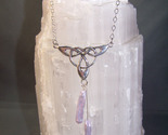Trinity w lav stick pearl necklace thumb155 crop