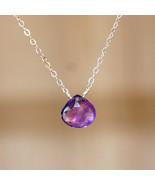 Simplicity Amethyst Necklace - $32.00