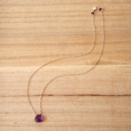 Simplicity Amethyst Necklace