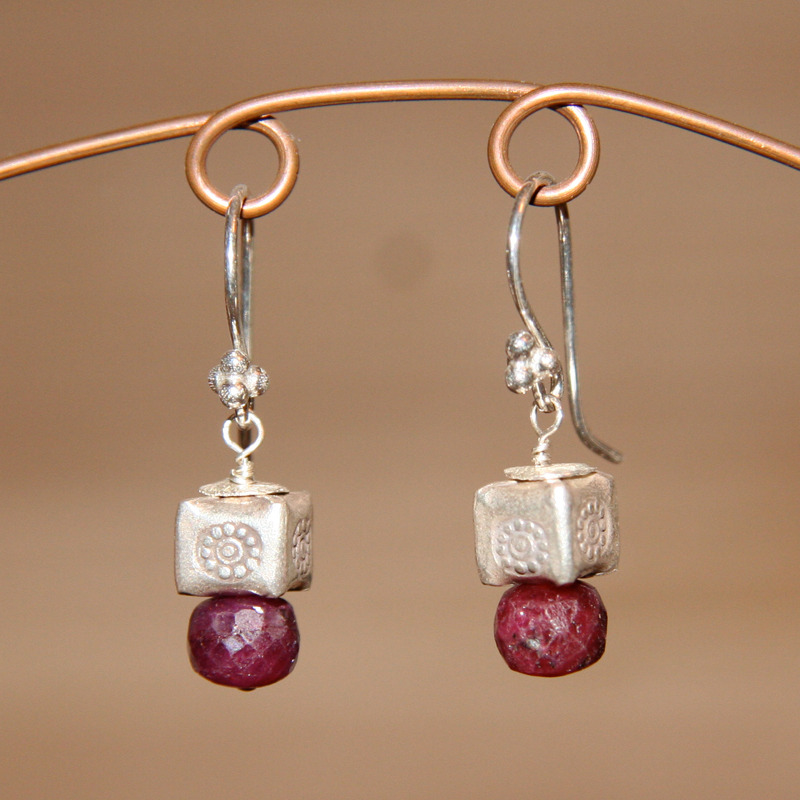 Ruby Ruby Earrings