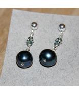 Blue Moon Earrings - $25.00