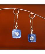 Kyanite Spiral Earrings - $22.00
