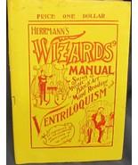 Herrmann's Wizard's Manual by Herrmann, Alexander - $93.36