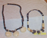 2woodbeadnecklaces thumb155 crop