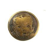 Vintage Gerber Baby Advertising Belt Buckle 7617 - $44.54