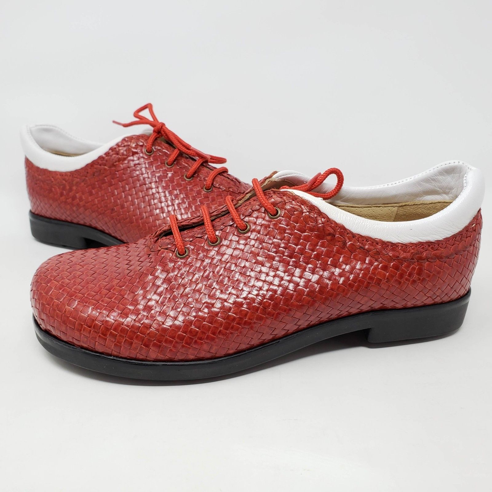 get new another chance fresh styles Aerogreen Italy Womens Red White Leather and 50 similar items