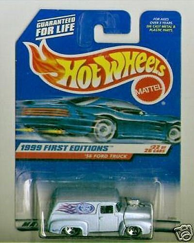 Hot Wheels 1999 FE #927 56 Ford Truck HW tampo