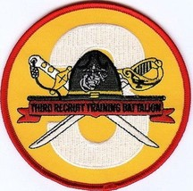 Usmc 3rd Recruit Training Battalion Patch Pisc Mcrd 3d Rtb - $1,000.00
