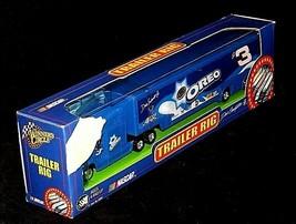 Blue Oreo Dale Earnhardt Jr. #3 NASCAR Die-Cast Collector Trailer Rig AA19-NC800 image 2