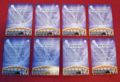 Fleer Ultra Baseball Big Shots Lot Of 8 Cards image 2