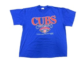 1993 VTG 90's MLB Chicago Cubs Baseball Men's T-shirt Size XLarge Made in USA - $22.72