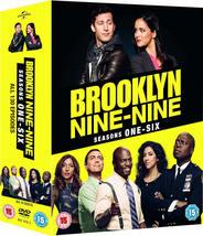 Brooklyn Nine Nine Complete Series 1-6 DVD Boxset *REGION 2 PLEASE READ ... - $85.95