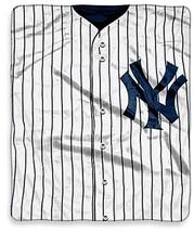 MLB New York Yankees Jersey Raschel Throw Blanket Plush NEW Micro - $46.48