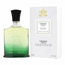 CREED Original Vetiver 3.3 Oz /100ML Millesime Spray NEW IN BOX - $148.39