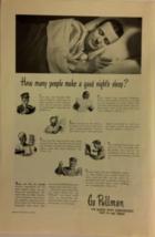 Vintage Advertisement - Pullman Railroad Cars - 1948 - $6.99