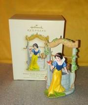 Snow White Hallmark Keepsake Ornament Disney 2007 / Wishes Really Do Com... - $24.24