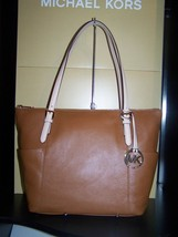 MICHAEL KORS NWT Jet Set  EW TZ Tote Shoulder B... - $149.95