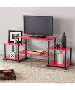 """Red, Teal, Blue,Pink 3-Cube Entertainment Center TV Stand for up to 40"""" ... - $53.19"""