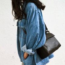 Sale, Flap Cover Shoulder Bag, Women Full Grain Leather Handbag, Crossbody Bag image 4