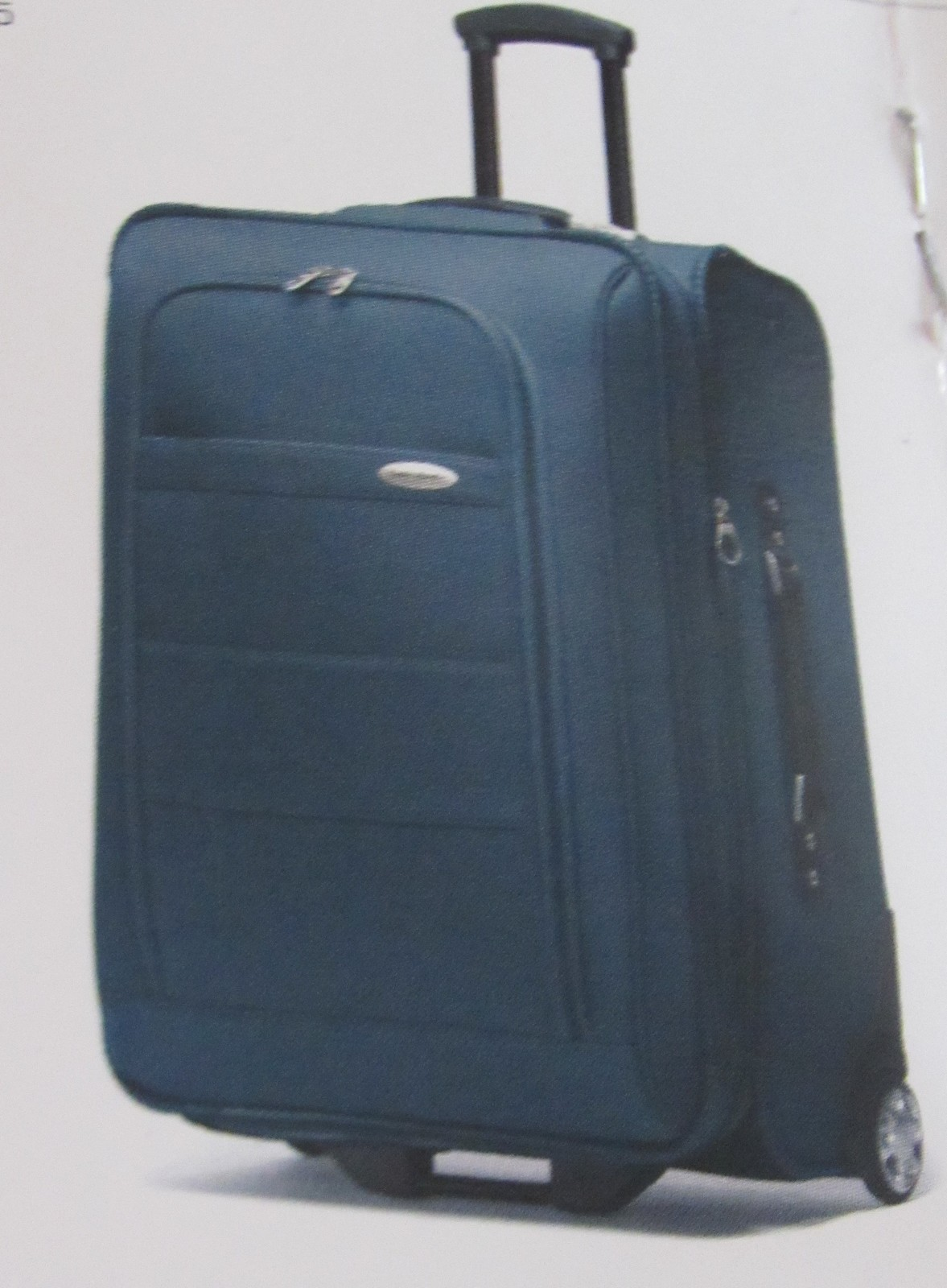 "Primary image for SAMSONITE ""PERIMETER"" EXPANDABLE WHEELED 25"" UPRIGHT SUITCASE TEAL SOLID  NEW"