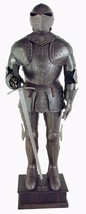 Medieval Larp Black Knight Wearable Halloween Suit Of Armor  - $899.00