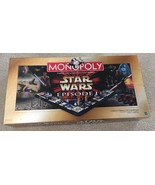 Monopoly Star Wars Episode I Characters 3-D Gameboard Collector Edition NEW - $28.71