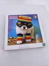 Buffalo Let's Party Boo The World's Cutest Dog 300 Piece Jigsaw Puzzle - $9.49