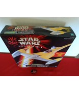 Star Wars Episode 1 Electronic Naboo Fighter w/Lights and Sounds 1998 Hasbro NIB - $30.00