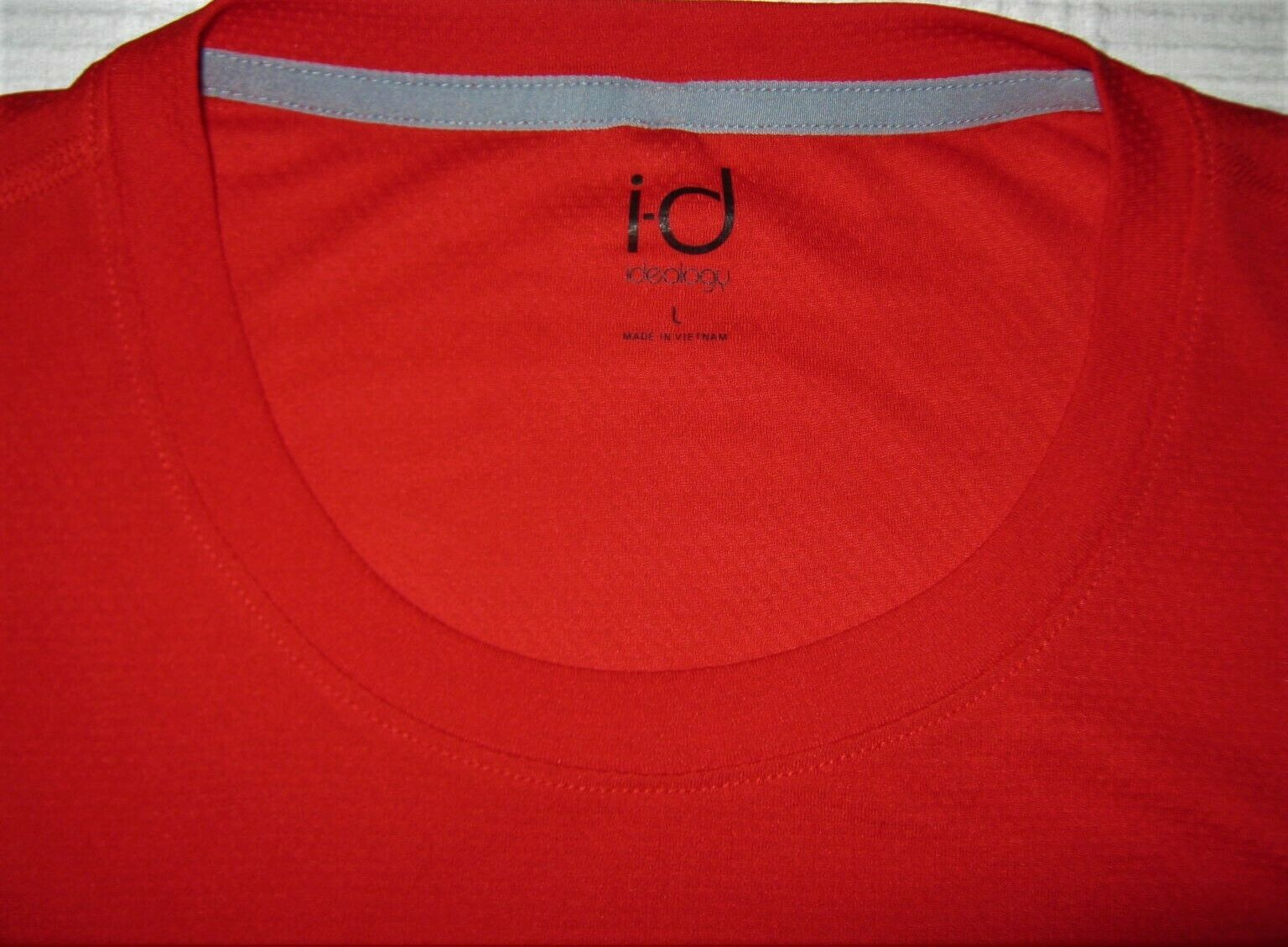 Ideology Red Mens Athletic Apparel Performance T-shirt Usa Size Large L