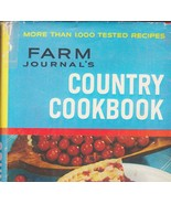 Farm Journal Country Cookbook 1959 Basic 1000 Tested Recipes - $15.87